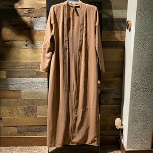 Long classy coverup/dressy long cardigan. one size